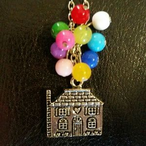 Disney's UP inspired balloon necklace